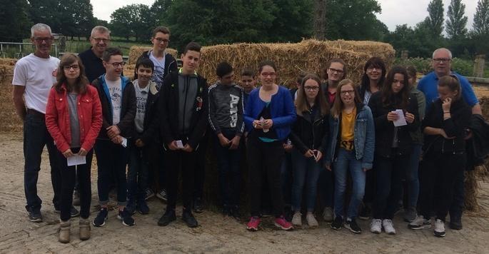 Au LEP Rural de Châteaubriant, on apprend autant à l'extérieur que dans les salles de classe