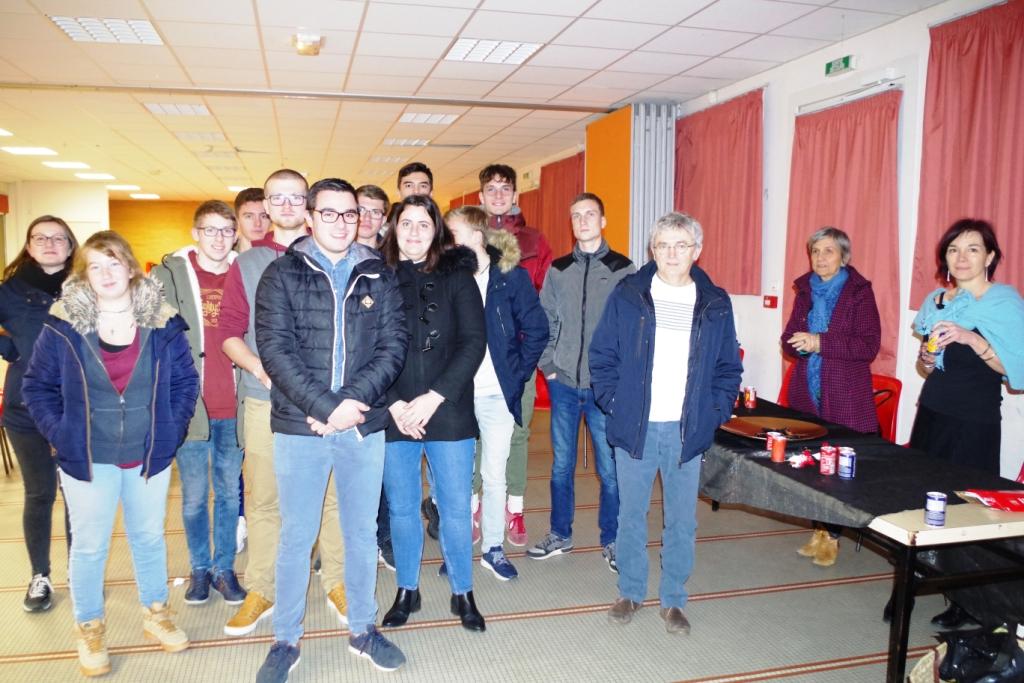 Rencontre Mobilité et Stage à l'étranger – BTS ACSE – Terminales CGEA au Lycée Saint-Clair de Derval.