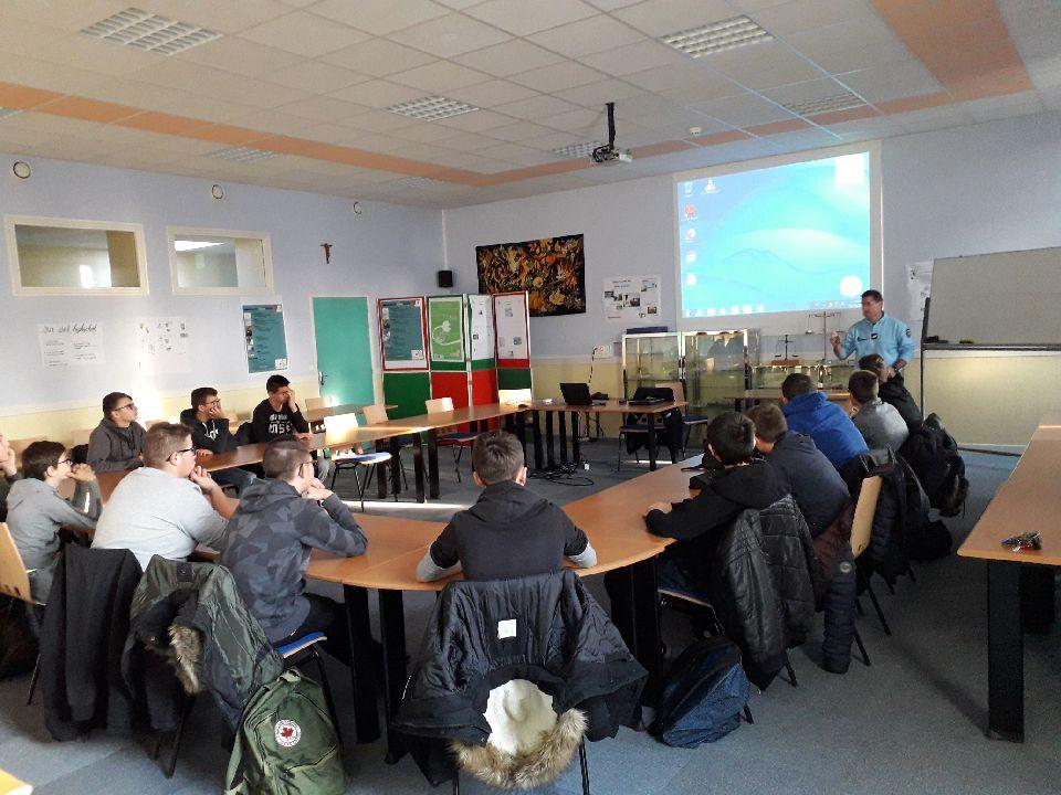 Semaine de sensibilisation au Lycée St Clair à Derval