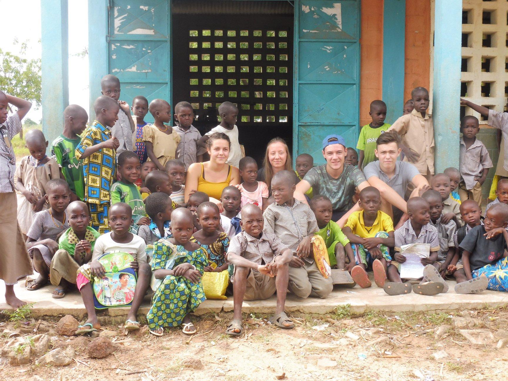Séjour au Togo pour les lycéens de St Clair à Derval