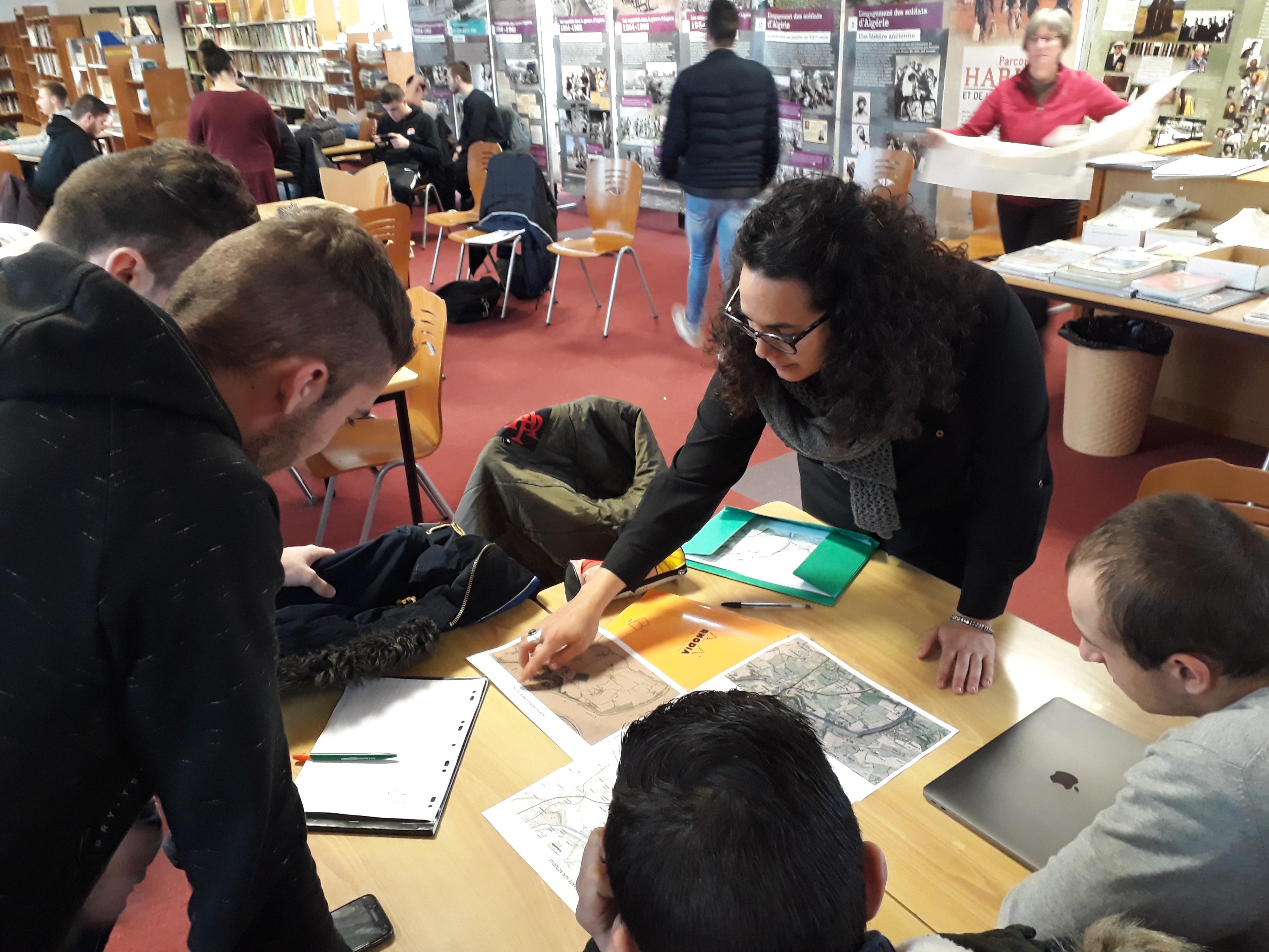 Archéologie pour les apprentis du Lycée Blain Derval