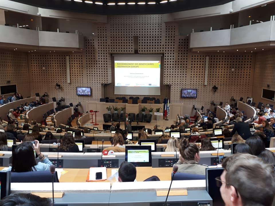 Rassemblement des bénéficiaires ERASMUS+ au Conseil régional des Pays de la Loire