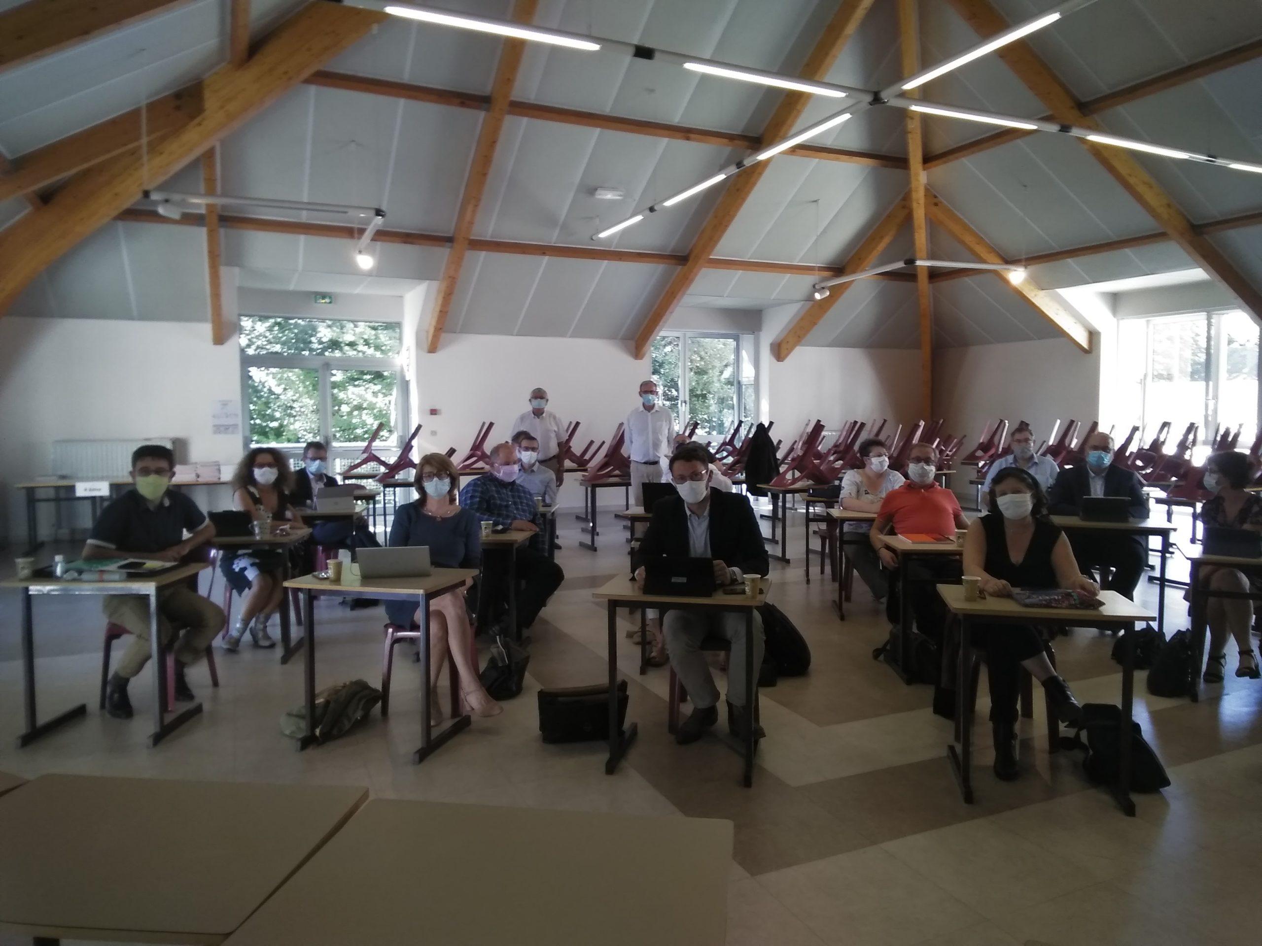 C'est la rentrée pour les Chefs d'établissement du réseau CNEAP Pays de la Loire
