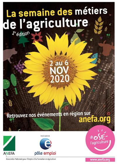 La semaine des métiers de l'agriculture en France