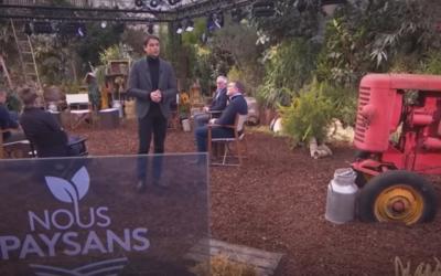 """Emission """"Nous paysans"""" sur France 2 où intervient un étudiant des Etabières"""