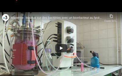 """France 3 : Connaissez vous le BTS """"Anabiotec"""" ? Les étudiants apprennent à préparer des analyses indispensables en biologie, biochimie, microbiologie et chimie."""
